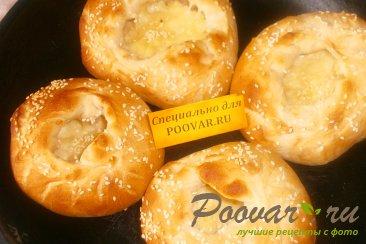 Шаньги с картофелем и моцареллой Шаг 13 (картинка)