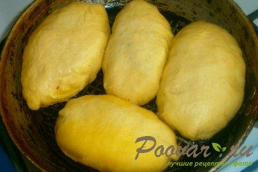 Пирожки с луком и яйцом на кефире Шаг 11 (картинка)