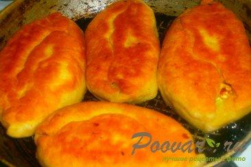 Пирожки с луком и яйцом на кефире Шаг 12 (картинка)