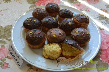Апельсиновые маффины с шоколадом Шаг 14 (картинка)