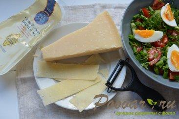Овощной салат с сыром и яйцом Шаг 6 (картинка)