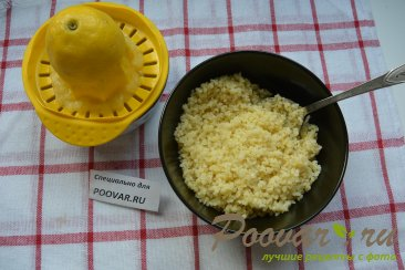 Салат из булгура с зеленью и помидорами (Табуле) Шаг 2 (картинка)