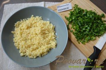 Салат из булгура с зеленью и помидорами (Табуле) Шаг 5 (картинка)