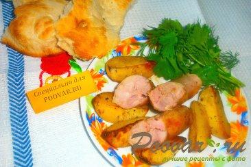 Домашняя колбаса с картофелем Шаг 6 (картинка)