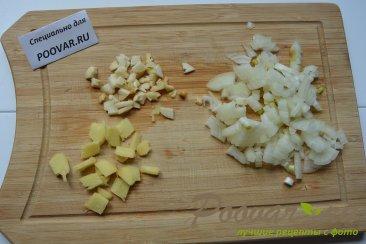Суп с рисовой лапшой и мясом Шаг 3 (картинка)