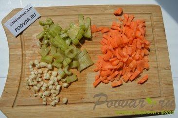 Суп с рисовой лапшой и мясом Шаг 5 (картинка)