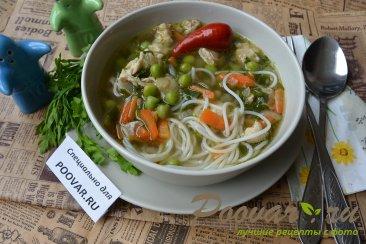Суп с рисовой лапшой и мясом Шаг 11 (картинка)
