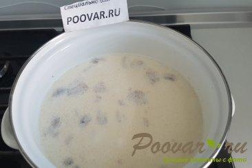 Суп с курицей грибами и сливками Шаг 5 (картинка)
