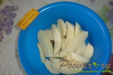 Куриные сердечки с картофелем Шаг 4 (картинка)