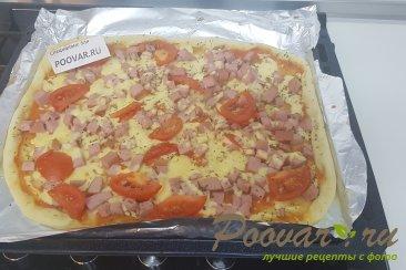 Дрожжевое тесто на кефире для пиццы Шаг 9 (картинка)
