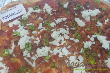 Дрожжевое тесто на кефире для пиццы Шаг 11 (картинка)