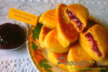 Пирожки со смородиной на кефире Шаг 13 (картинка)