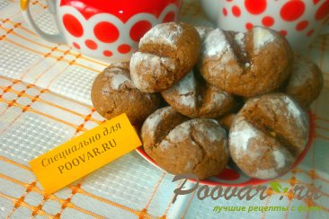 Шоколадное печенье с арахисом Изображение