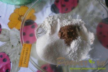 Шоколадное печенье с арахисом Шаг 1 (картинка)