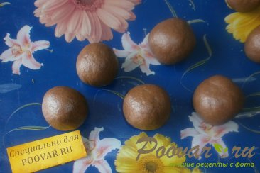 Шоколадное печенье с арахисом Шаг 7 (картинка)