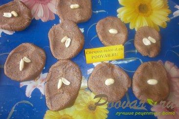 Шоколадное печенье с арахисом Шаг 8 (картинка)