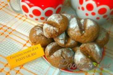 Шоколадное печенье с арахисом Шаг 13 (картинка)