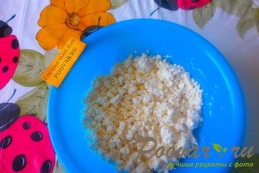 Сырники с белковым кремом и клубникой Шаг 1 (картинка)
