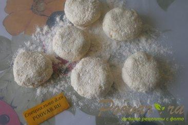 Сырники с белковым кремом и клубникой Шаг 5 (картинка)