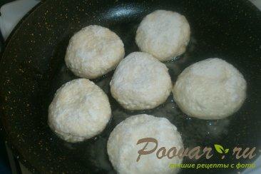 Сырники с белковым кремом и клубникой Шаг 6 (картинка)