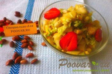 Салат из капусты и фруктов Шаг 8 (картинка)