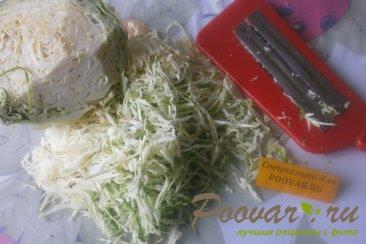 Салат из капусты и фруктов Шаг 1 (картинка)