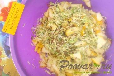 Салат из капусты и фруктов Шаг 7 (картинка)