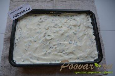 Запеканка из картофеля, фарша и зеленого горошка Шаг 7 (картинка)