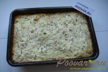 Запеканка из картофеля, фарша и зеленого горошка Шаг 8 (картинка)