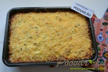 Запеканка из картофеля, фарша и зеленого горошка Шаг 11 (картинка)