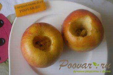 Яблоки запечённые, фаршированные клубникой Шаг 5 (картинка)