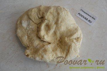 Ругувачки Болгарские с творогом и грибами (чебуреки) Шаг 3 (картинка)