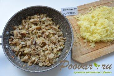 Ругувачки Болгарские с творогом и грибами (чебуреки) Шаг 7 (картинка)