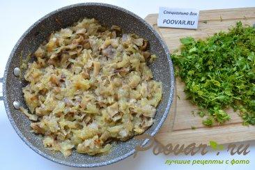 Ругувачки Болгарские с творогом и грибами (чебуреки) Шаг 8 (картинка)