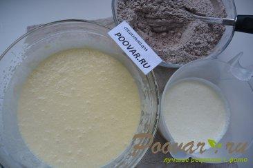 Шоколадный торт с мягким сливочным кремом Шаг 6 (картинка)