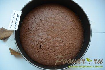 Шоколадный торт с мягким сливочным кремом Шаг 10 (картинка)