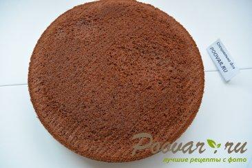 Шоколадный торт с мягким сливочным кремом Шаг 11 (картинка)