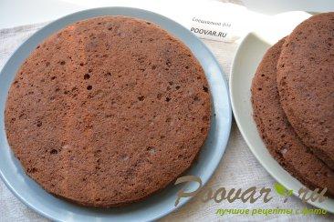 Шоколадный торт с мягким сливочным кремом Шаг 16 (картинка)