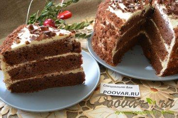 Шоколадный торт с мягким сливочным кремом Шаг 20 (картинка)