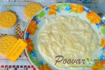Молочный суп с вермишелью Изображение
