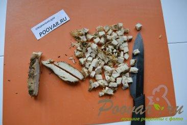 Корзиночки из кабачков с куриной начинкой Шаг 5 (картинка)
