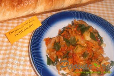Рагу из капусты с кабачками Шаг 10 (картинка)