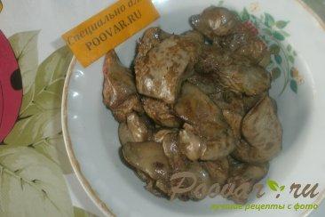 Рагу из куриной печени и грибов Шаг 5 (картинка)