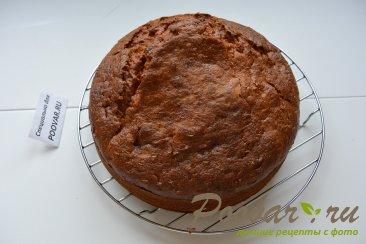 Бананово-клубничный торт со сливками Шаг 10 (картинка)