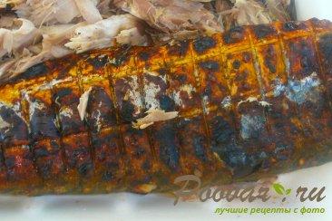 Голубая скумбрия на мангале Шаг 4 (картинка)
