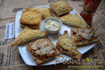 Горячие бутерброды в духовке Изображение