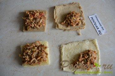 Горячие бутерброды в духовке Шаг 8 (картинка)