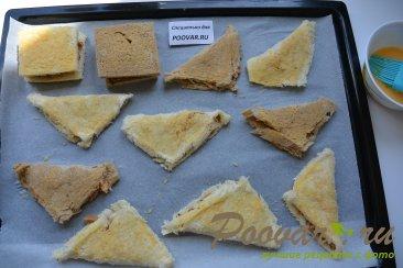 Горячие бутерброды в духовке Шаг 10 (картинка)