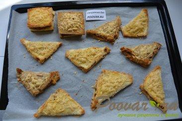 Горячие бутерброды в духовке Шаг 12 (картинка)
