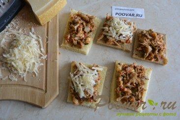 Горячие бутерброды в духовке Шаг 13 (картинка)